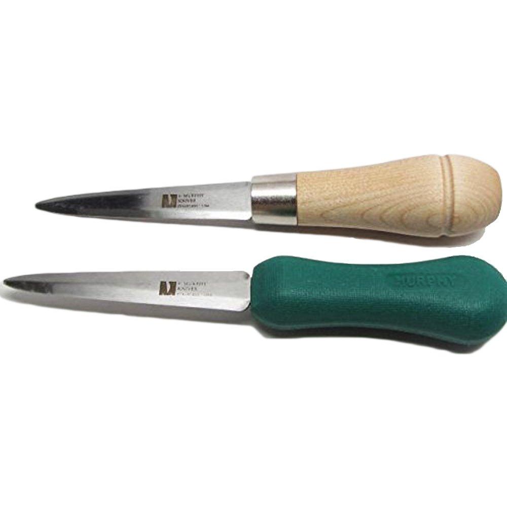 2 Gulf Oyster Knife Shuckers R. Murphy Polypropylene & Wood Handle by UJ Ramelson Co