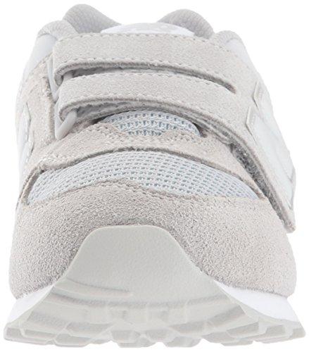 New Balance 574v1, Zapatillas Unisex Niños, Gris (Grey/White), 30.5 EU