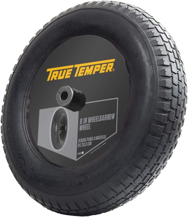 The AMES Companies Inc T22CC Ames Tubed Wheel Assembly 8-Inch