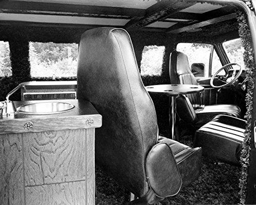 1975 Dodge Vantastic Hop Cap Custom Van Interior Photo Poster