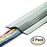 UT Wire UTW-CPL5-GY 5' Cable Blanket Low Profile Cord Cover and Protector, Grey (Pack of 2)