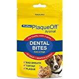 PlaqueOff Animal Dental Bites for Cats and Dogs 60g