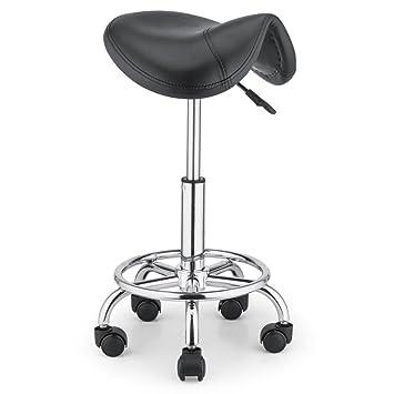 Merveilleux Artist Hand Ergonomic Swivel Salon Stools Adjustable Hydraulic Rolling  Barber Tattoo Massage Spa Clinic Stool Chair