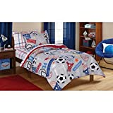 Mainstays Kids Play Ball Bed in Bag Bedding Set FULL