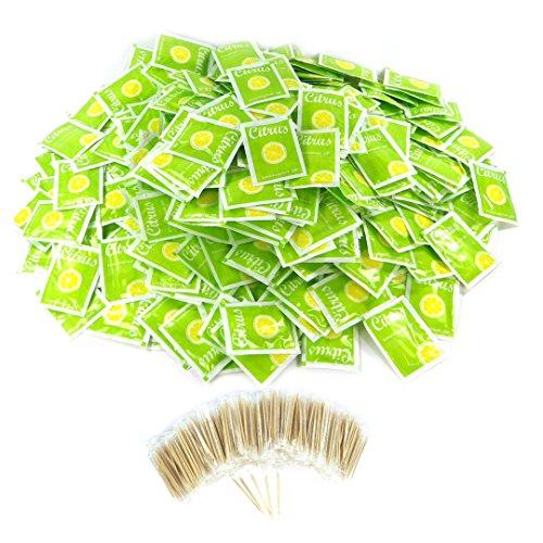 Juego 2 colores Servilletas Premium Servilletas en combinación Look mesa decorativa de gran calidad Delgado Uni einfarbig Color Verde Kiwi verde verde claro ...