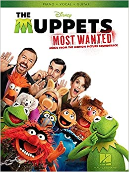 Book The Muppets Most Wanted: Music from the Motion Picture Soundtrack