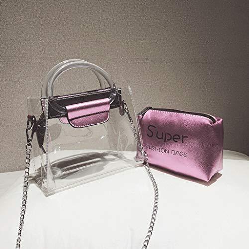 Couleur de à taille Mini Sacs Sac Lady bandoulière Loisirs à bandoulière Pink de Or 18 GJ 8 voyage mode femelle 16cm Sacs sac portatif Sac fUqPw