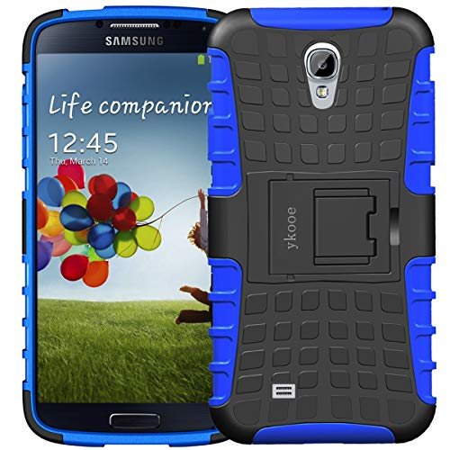 ykooe Phone Case Compatible for Galaxy S4 Case (Blue)