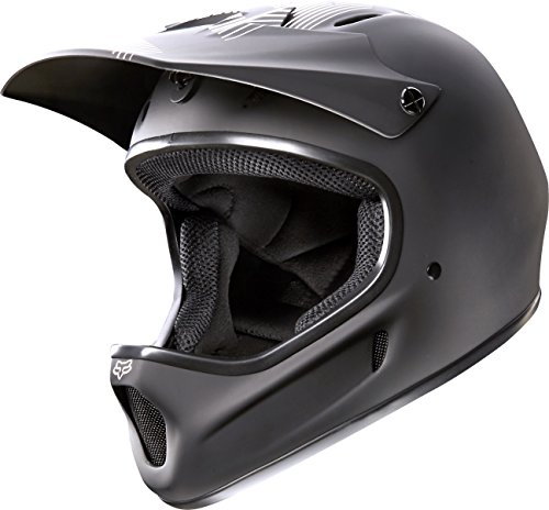 Cheap Fox Head Rampage Adult Full Face Bike Helmet (Matte Black, Small)
