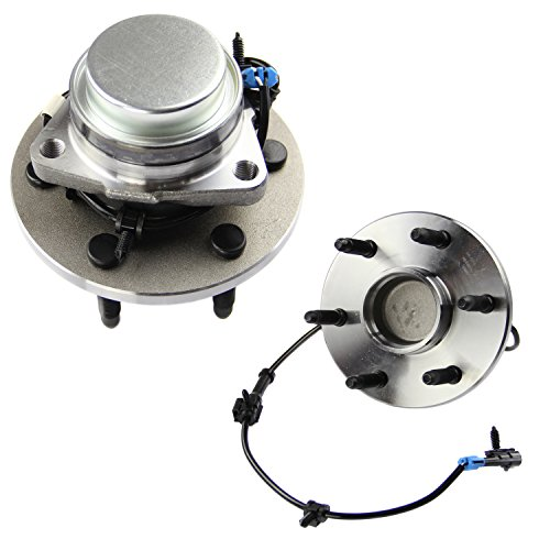 MOTORMAN 515054 Front ABS Wheel Hub and Bearing Set - Both Left and Right - Pair of (Front Wheel Hub Set)