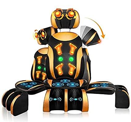AMYMGLL Cojín de masaje para silla Masajeador multifuncional ...
