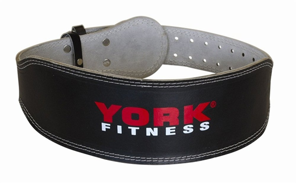 York Fitness Cinturón de cuero