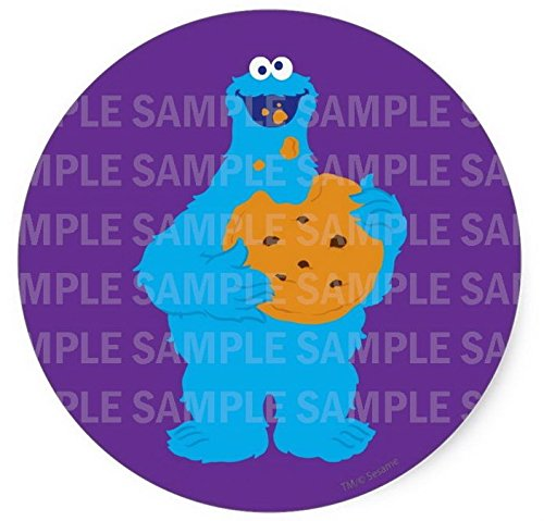 Sesame Street Cookie Monster Birthday Edible Image Photo 8