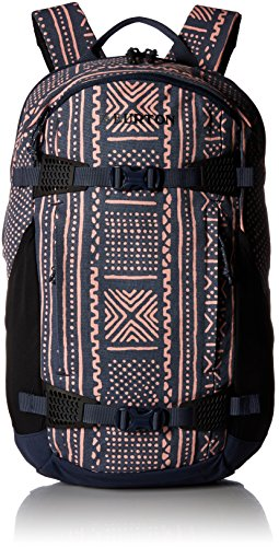 Burton Women's Day Hiker Backpack [25l], Mood Indigo Bambara Canvas, One ()