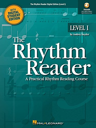 Rhythm Reader Digital Edition (Level I): Enhanced Teacher Instruction and Projectable Student Exercises with Audio by Hal Leonard