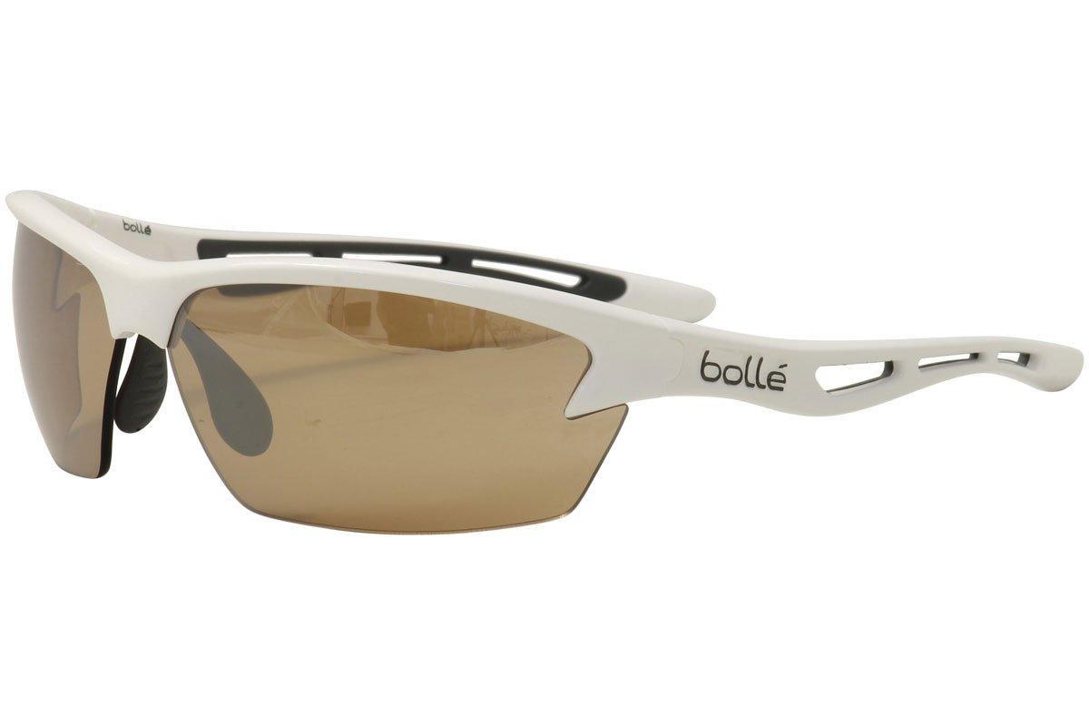 BolleゴルフメンズボルトサングラスModulator v3 Oleo AF  光沢のあるホワイト B01MYO6ZFW