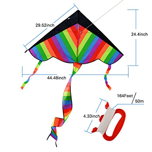 RuiyiF Kites for Boys Girls Kids Child Children Colorful (Pack of 3) by RuiyiF (Image #1)