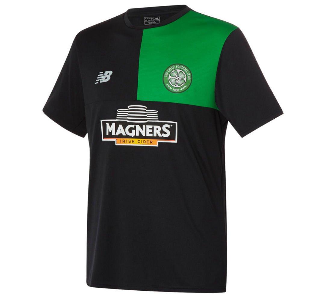2016-2017 Celtic Elite Training Jersey (Black) B01HXFECKS