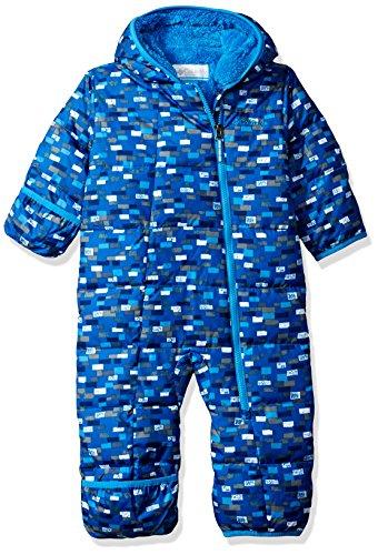 Columbia Baby Boys' Frosty Freeze Bunting, Peninsula Blocks, (Infant Down Bunting)
