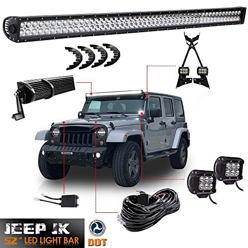 Where to find jeep wrangler light bar kit?