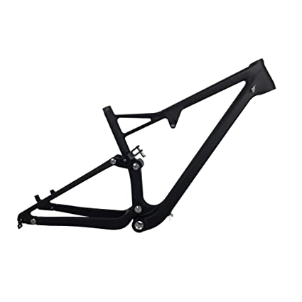 Amazon.com : Carbon Full Suspension Frame 29er Carbon MTB Bicycle ...