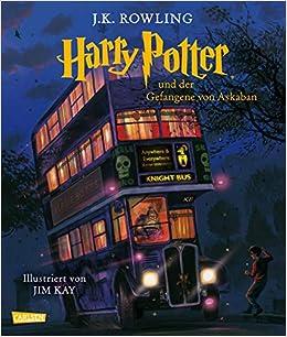 Harry Potter 3 Und Der Gefangene Von Askaban Farbig Illustrierte Schmuckausgabe Rowling J K 9783551559036 Amazon Com Books