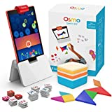 Osmo - Genius Kit - 5 Hands-On Learning Games - Ages 6-10 - Problem Solving & Creativity - STEM - For Fire Tablet (Osmo Fire Tablet Base Included - Amazon Exclusive)