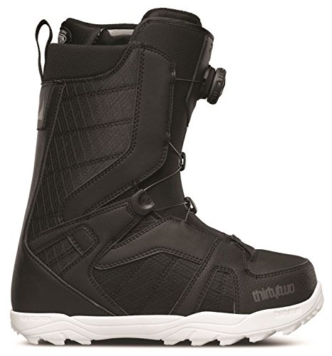 - ThirtyTwo STW Boa Snowboard Boots, Black, Size 5