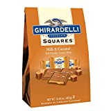 Ghirardelli Milk and Caramel Squares XL Bag, 15.96 Ounce