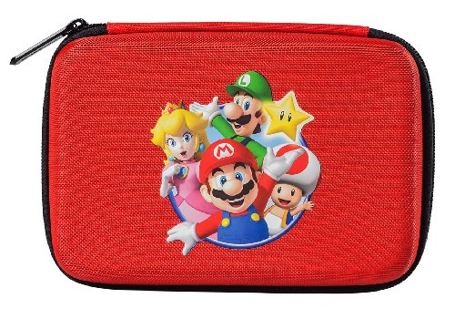 Official Nintendo Mario Travel Case for Nintendo 3DS, 3DS XL, DS, DSi & DSi ()
