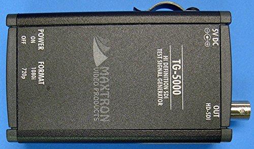 Maxtron TG-5000A Dual-Format HD-SDI Pattern Generator w/ Audio Embedded