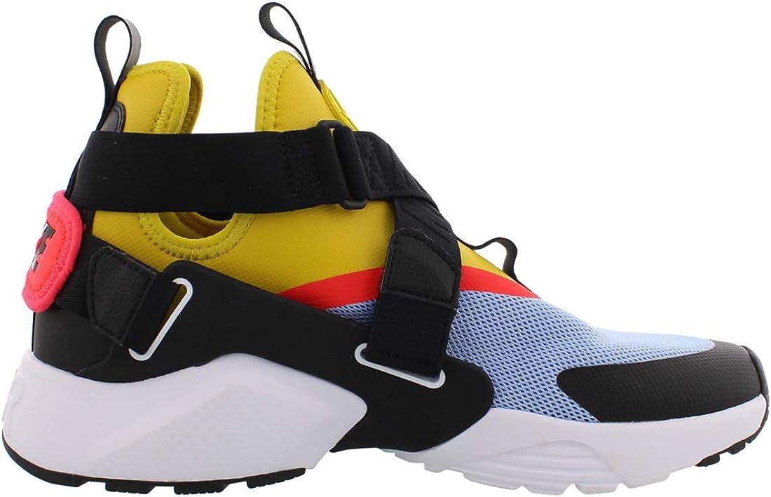 vóleibol Bolos simultáneo  Amazon.com | Nike Air Huarache City Women's Shoes Aluminum/Bright  Citron/Black ah6787-401 (11 B(M) US) | Road Running