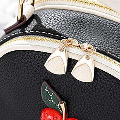 Cross Womens the As Bag Travel Mini PU Bag 1 Body Casual Leather YAANCUN Bag Shoulder Picture P7txqwOnn