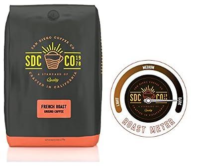 San Diego Coffee French, Dark Roast