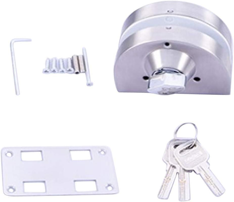F fityle vitrina doble cerradura puerta Candado Puerta de Cristal para puerta corredera de cristal, con 2 llaves: Amazon.es: Bricolaje y herramientas