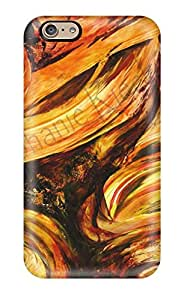 Iphone 6 Case Cover - Slim Fit Tpu Protector Shock Absorbent Case (abstract Painting )