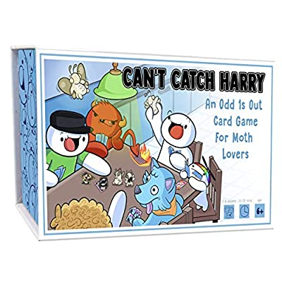 TheOdd1sOut Can't Catch Harry Board Game - Merch Made by James Rallison - Can You Catch Harry The Moth: Toys & Games