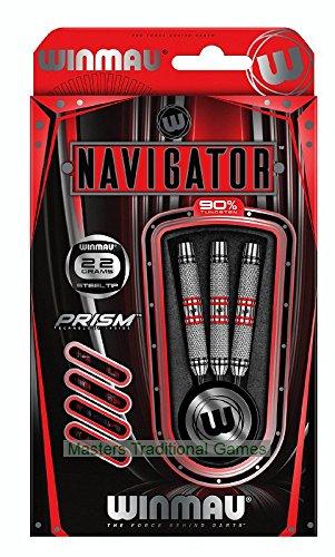 Winmau Game - Winmau Navigator 90% Tungsten Steel-tip Darts - 24 Grams