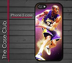 iPhone 5C (New Color Model) Rubber Silicone Case - Kobe Bryant 24 Lakers LA Los Angeles Kobe Show by lolosakes
