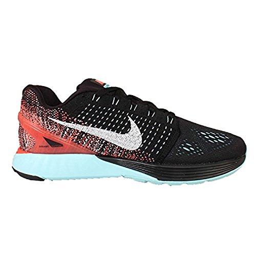 Nike Kvinnor Wmns Lunarglide 7, Svart / Vit-copa-hyper Apelsin Svart / Vit-copa-hyper Apelsin