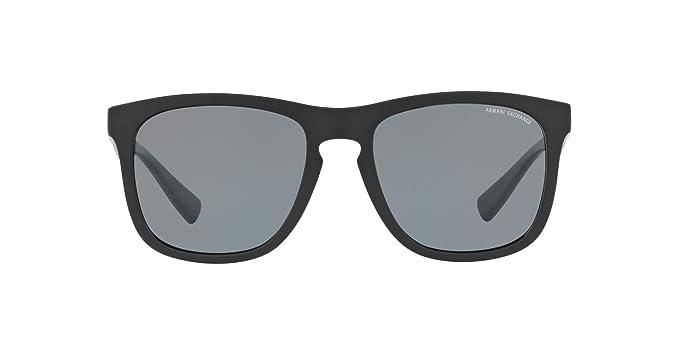 fd944a5675ca Amazon.com: Armani Exchange Men's 0ax4058s Square Sunglasses matte ...