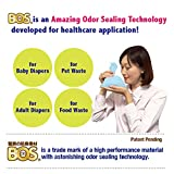 BOS, Amazing Odor-Sealing Cat Waste Bags - Durable, Unscented (200Bags) [Size: XS, Color: Light