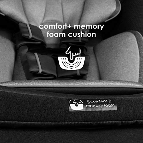 511RvaedcKL - Diono Radian 3QX 4-in-1 Rear & Forward Facing Convertible Car Seat | Safe+ Engineering 3 Stage Infant Protection, 10 Years 1 Car Seat, Ultimate Protection | Slim Design - Fits 3 Across, Jet Black