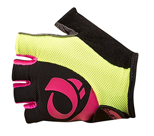 Pearl Izumi - Ride Women's Select Gloves, Black/Screaming Pink, Large (Select Leather Palm Gloves)
