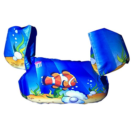AMERICANSTAR Kids Swim Trainer Vest Pool Floats Swimming Learner Protection...