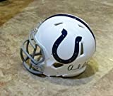 ANDREW LUCK AUTOGRAPHED Hand SIGNED Indianapolis COLTS Mini HELMET w/COA