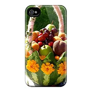 Durable Fruit Basket Back Case/cover For Iphone 4/4s