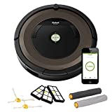 iRobot Roomba 890 Robot Vacuum with Wi-Fi Connectivity (R890 w/ replenishment kit)