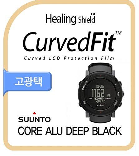 Alu Guard - Healingshield Screen Protector CV for Brand Watch Core ALU Deep Black [Front 3pcs]