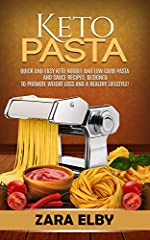 FREE KINDLE E-BOOK WITH EVERY PAPERBACK PURCHASEDo you follow a ketogenic diet but still miss indulging in a carby pasta dish? If so, Ketogenic Pasta: Quick and Easy Keto Noodle and Low Carb Pasta and Sauce Recipes, Designed to Promote Weight...